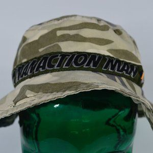 Vintage 1999 Action Man Licensed Kids Army Hat